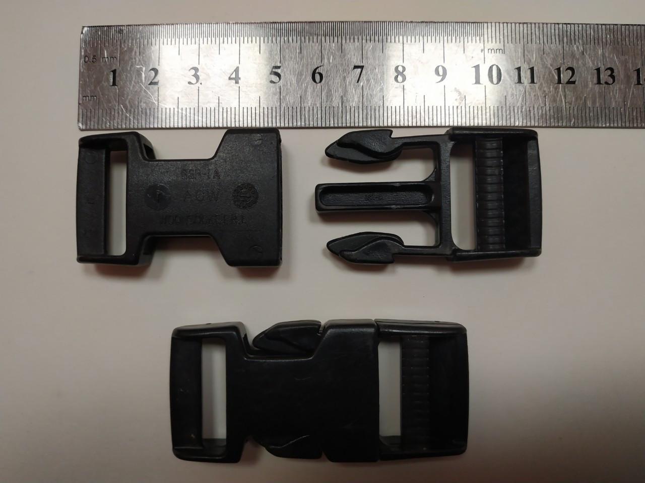 Фастекс 25 мм черный Оригинал Голландия