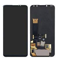 Дисплей для Meizu 16X с тачскрином черный Оригинал