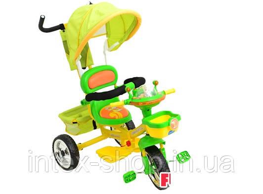 Трехколесный велосипед Profi Trike B29-1B-2 Салатовый