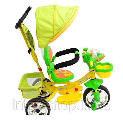 Трехколесный велосипед Profi Trike B29-1B-2 Салатовый, фото 2