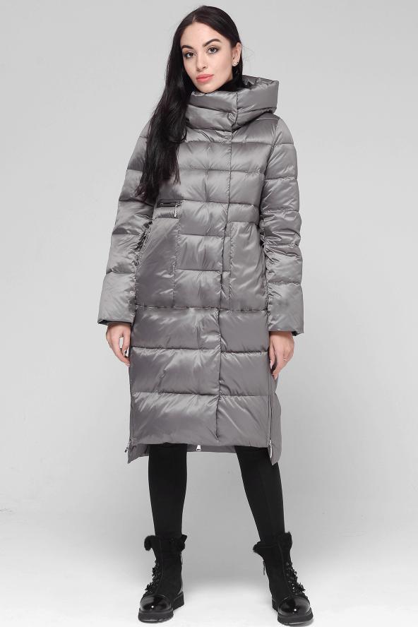 Стильная женская зимняя куртка BTF 1885 цвета визон