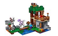 "Конструктор 33227 LELE Minecraft ""Нападение армии скелетов"" (Аналог Lego Minecraft 21146) 462 деталей"