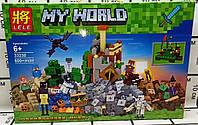 """Конструктор 33230 LELE Minecraft """"Падение башни""""  600 деталей"""