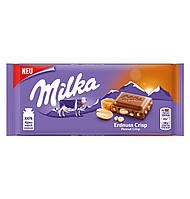 Молочний шоколад Milka Haselnuss 100г.