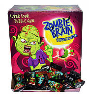 Жувальна гумка ZOMBI BRAIN Мозок Зомбі (фарбує язик) 3,5г*200шт*6
