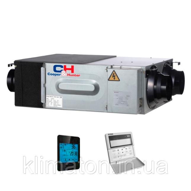 Вентиляційна установка з рекуперацією тепла Cooper&Hunter CH-HRV (Inverter)