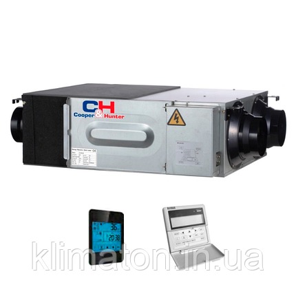 Вентиляційна установка з рекуперацією тепла Cooper&Hunter CH-HRV (Inverter), фото 2
