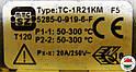 MMG 2/300*C термостат TC-1R21KM (Венгрия), фото 3