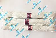 Шнур полипропиленовый вязаный. Диаметр 4 мм, длинна 100 м. Белый, фото 1