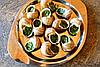 Улитки по-Провансальски, упаковка 100 грамм, на развес (полуфабрикат, фаршированные), фото 4