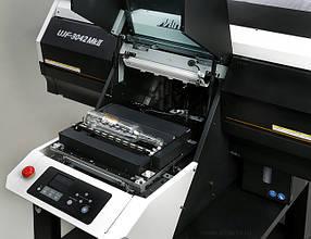 Опция Mimaki Kebab MkII/MkII L для печати на цилиндрических объектах