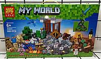 Конструктор LELE 33231 Minecraft 800 деталей (Аналог LEGO 21135)