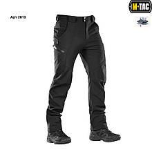 M-Tac брюки Soft Shell Winter Black