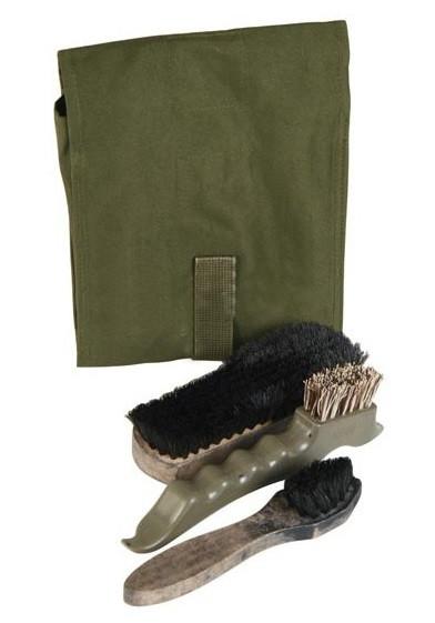 Набор для ухода за обувью армии Голландии  Б/У 1 сорт