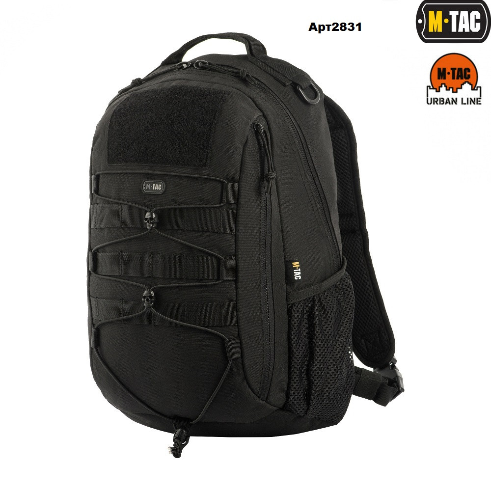 M-TAC РЮКЗАК URBAN LINE FORCE PACK BLACK