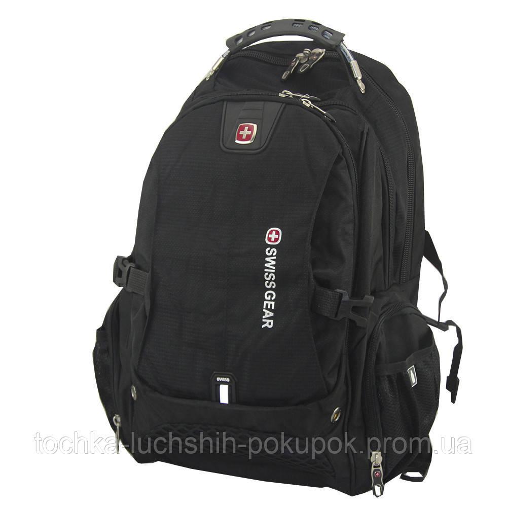 9db06fbdd37a Городской рюкзак для ноутбука SwissGear 1820, цвет - черный, с доставкой по  Киеву
