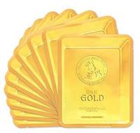 Тканевая маска с золотом и муцином улитки Elizavecca 24K Gold Water Dual Snail Mask, 1шт