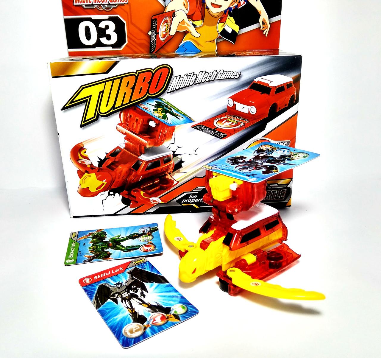 Робот-трансформер 03 Черепаха Turbo Mobile Mech Games Shantou Gepai