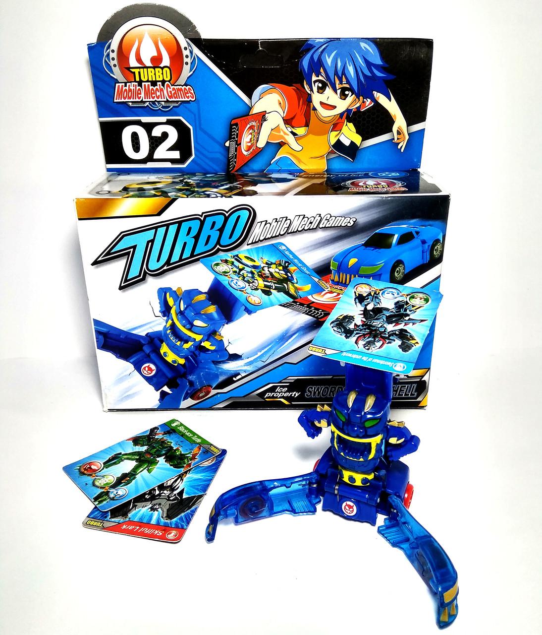 Робот-трансформер 02 Turbo Mobile Mech Games Shantou Gepai B1516795