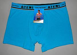 Трусы мужские боксеры L раз ATENI хлопок (0334)