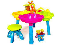 Столик-Песочница для игр с песком и водой, фото 1