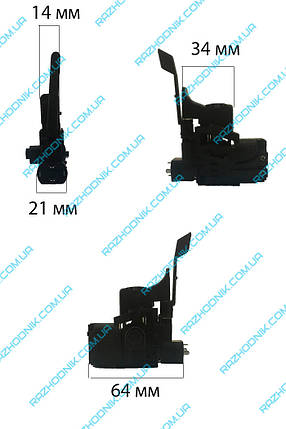 Кнопка перфоратора Bosch 2-24 (Универсальная), фото 2