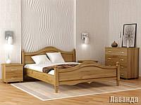Кровать деревяная 160х200 Лаванда Явіто