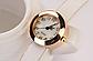 Жіночі годинники з метеликом, рожеві зі стразами, фото 2