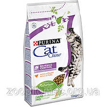 Cat Chow (Кет Чау) Special Care Hairball Корм для кішок профілактика утворення волосяних грудочок, 1,5 кг