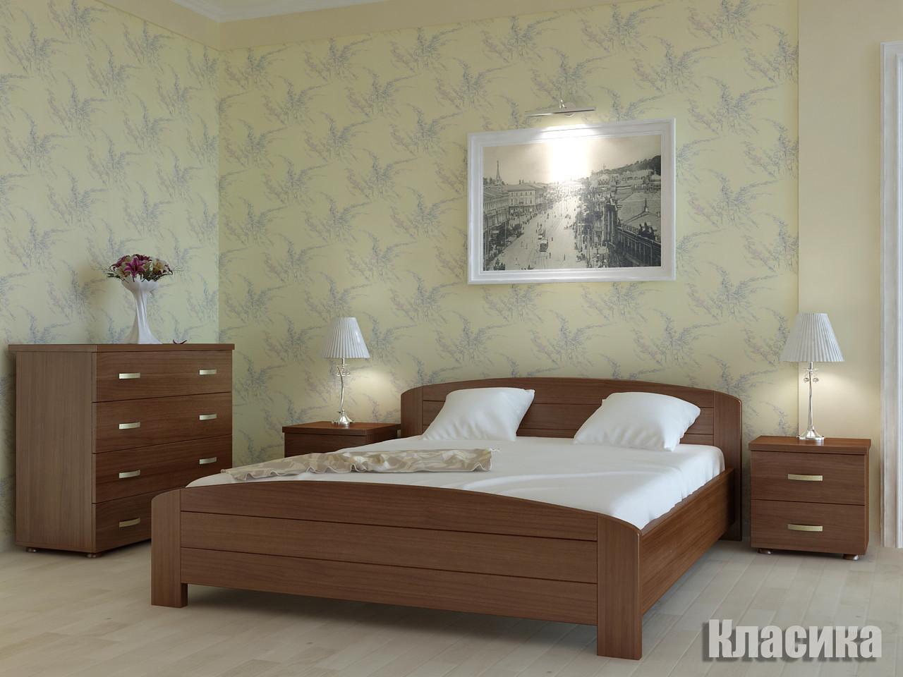 Кровать деревяная 160х200 Классика Явіто