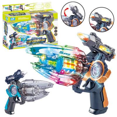 Детская игрушка. Пистолет с световыми и звуковыми эффектами