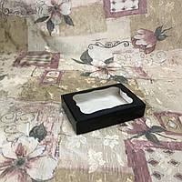 Коробка для пряников / 100х150х30 мм / печать-Черн / окно-обычн, фото 1