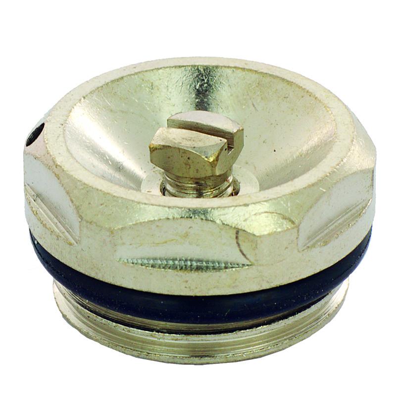 """Кран Маєвського FADO 1/2"""" під викрутку метал, MK21 (8008262041030)"""