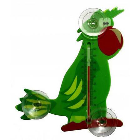 Термометр внешний, Попугай, фото 2
