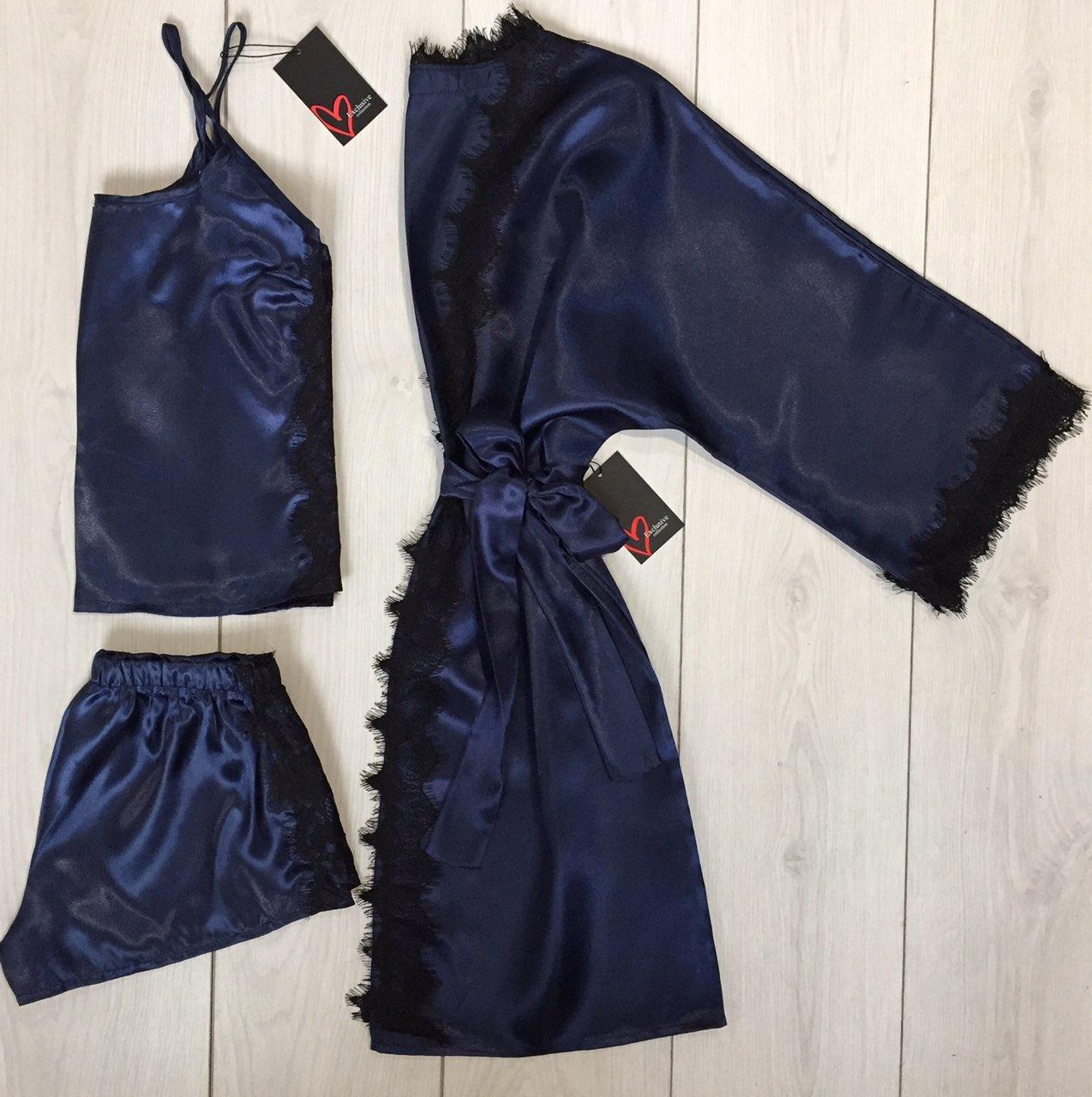 Одежда для дома майка шорты и халат