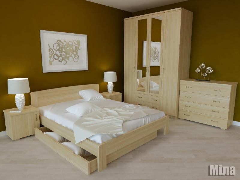 Кровать деревяная 160х200 Мила Явіто