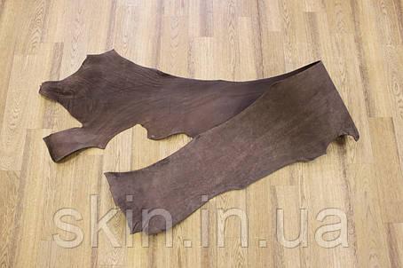 Кожа натуральная ременная в полах коричневая, толщина 2.6 мм,  арт. СК 1715, фото 2