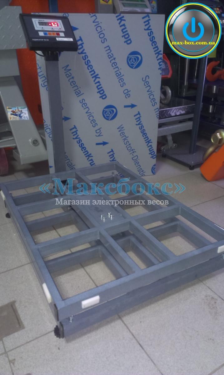 Ваги 300 кг товарні електронні BH-300-1-А (сі) (400x540)