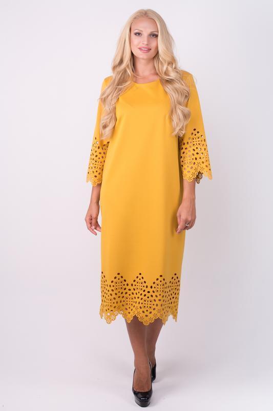 Платье женское нарядное и повседневное деловое размеры: 52-60
