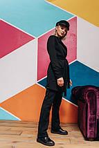 """Стеганый женский брючный костюм """"FLOURE"""" с кардиганом (5 цветов), фото 2"""