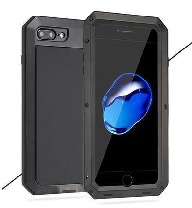 Чехол Lunatik Taktik Strike Black для iPhone 7 plus/8 plus, фото 2