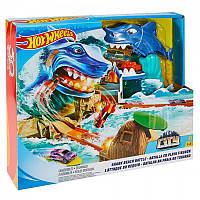 Игровой набор Hot Wheels Побег от акулы (FNB21), фото 1