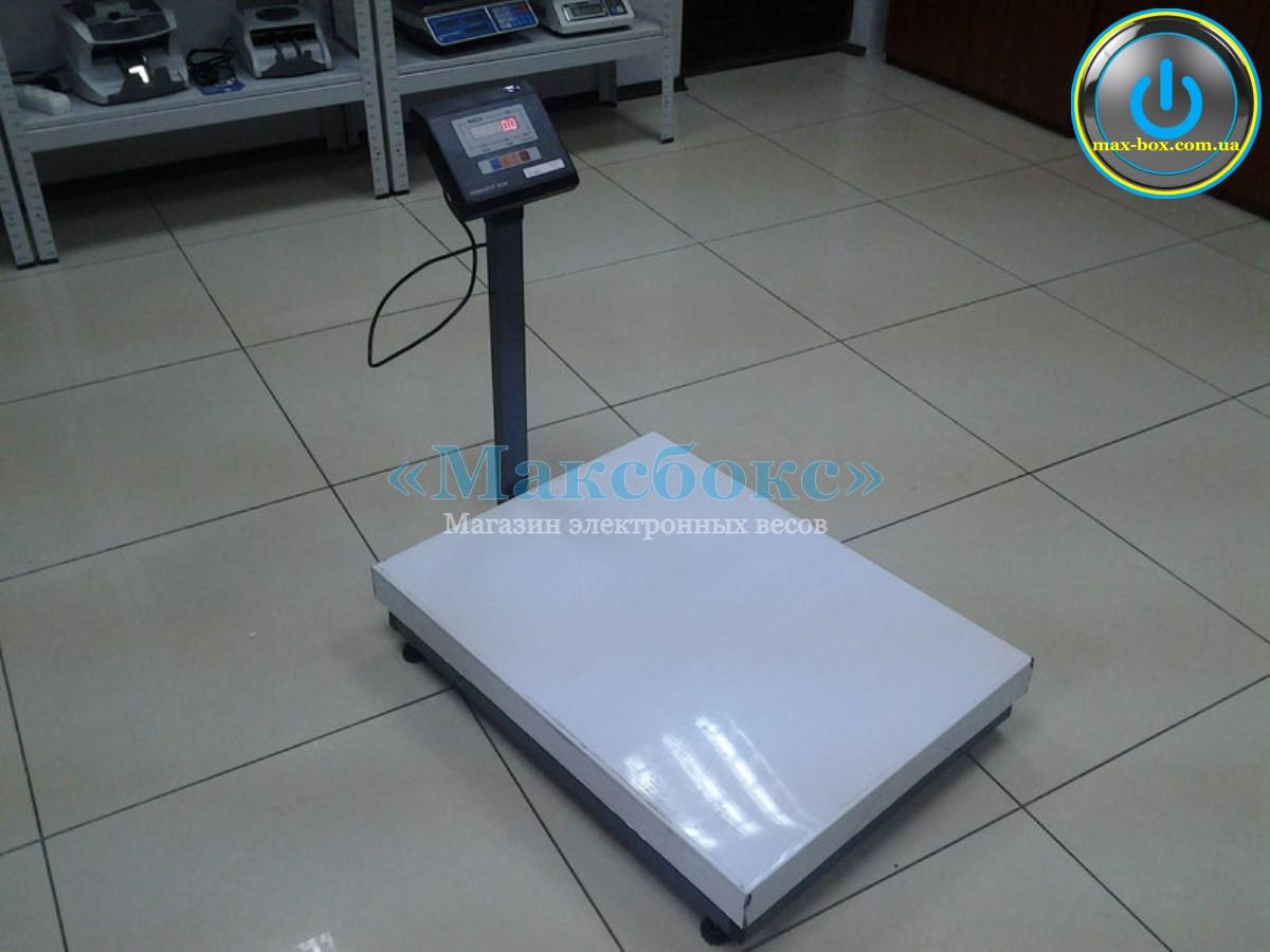 Ваги на 500 кг товарні електронні BH-500-1-А(сі)(500X600) (Промприлад).