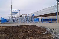 Ворота распашные  РУБЕЖ/КОЛЬЧУГА для забора из сетки 1000, 2000, 6000