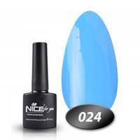 Гель-лак Nice for you № 24 (небесно-блакитний), 8,5 мл