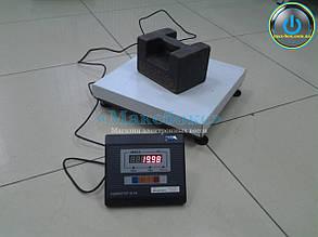 Весы товарные 60 кг ВН-60-1D-3-А Промприлад