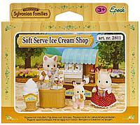 Sylvanian Families  Набор Ларек с мороженым