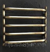 Бронзовый полотенцесушитель 500*500 Ольха 5 АЗОЦМ, фото 1