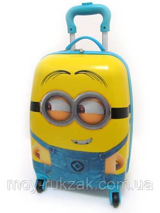 Детский чемодан дорожный Миньоны - 6, фото 2