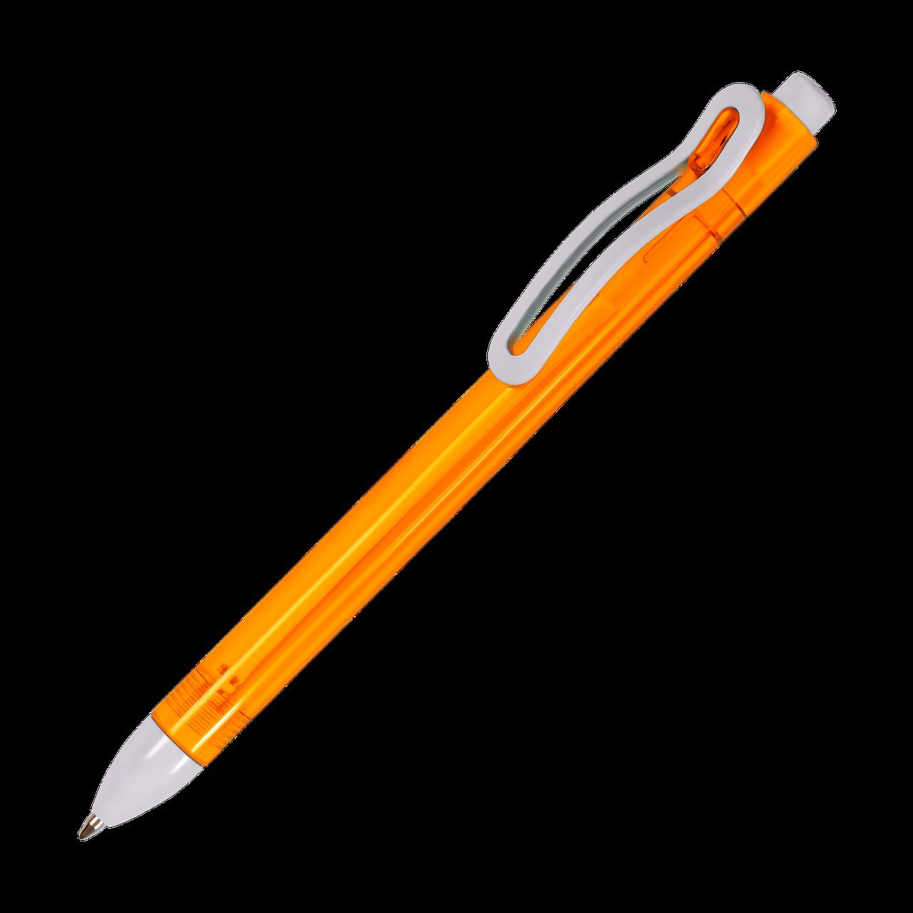 Шариковая ручка PARMA. Пластик. 7 цветов.